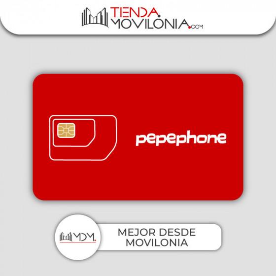 Tarifa Movilonia.com VIP 4G by Pepephone - SIN establecimiento de llamada - SIN consumo mínimo
