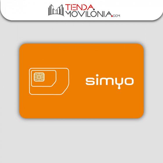 Tarifas móviles de contrato de Simyo - Llamadas y 4G - Cobertura Orange