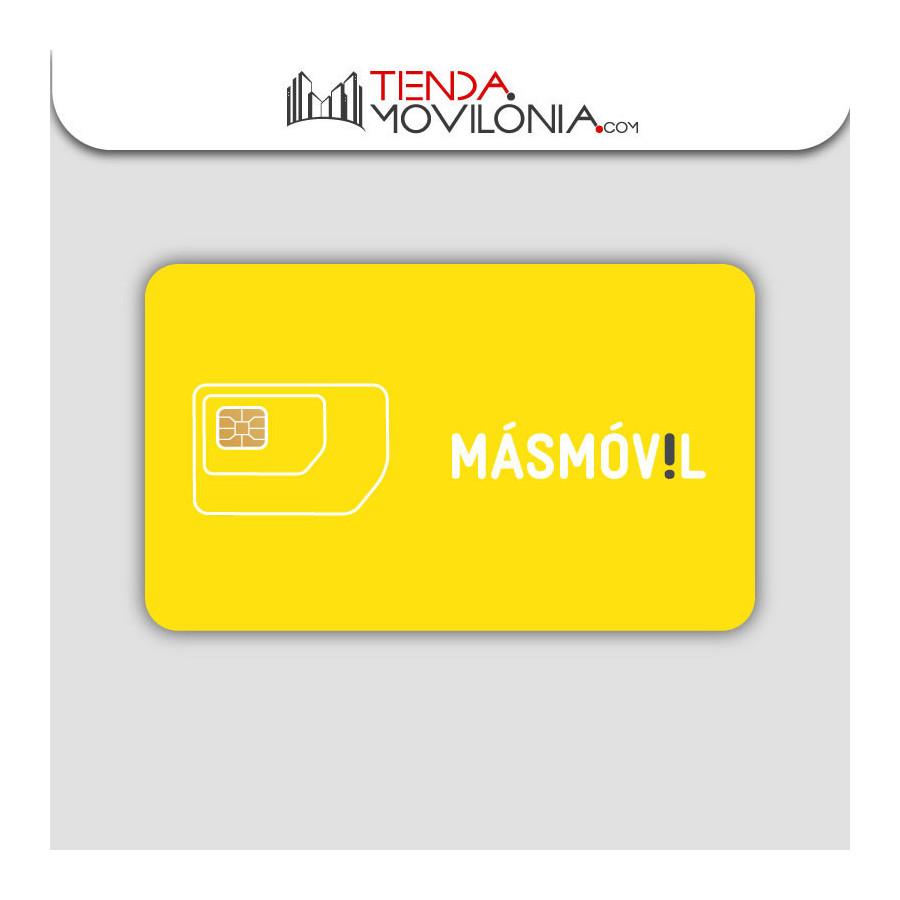 Tarjeta SIM prepago de Masmóvil - Llamadas e lnternet 4G - Cobertura Yoigo y Orange
