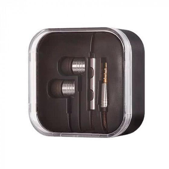 Auriculares intraurales con micrófono y cable