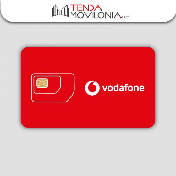 Tarjeta SIM prepago de Vodafone - Tarifas por tallas - Llamadas y 4G/5G - GB acumulables