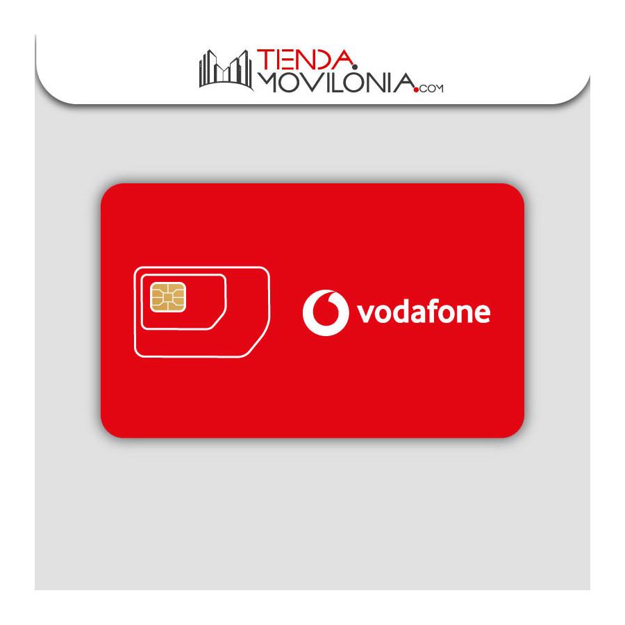 Tarjeta SIM prepago de Vodafone - Tarifas por tallas - Llama