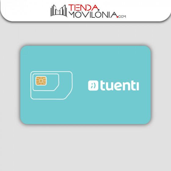 Tarifas móviles de contrato de Tuenti - Cobertura 4G Movistar - Sin permanencia