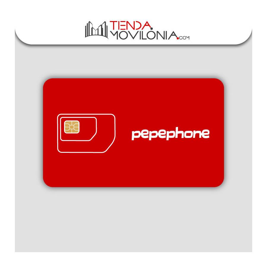 Tarifas móviles de contrato de Pepephone - Llamadas y 4G - Cobertura Yoigo y Orange