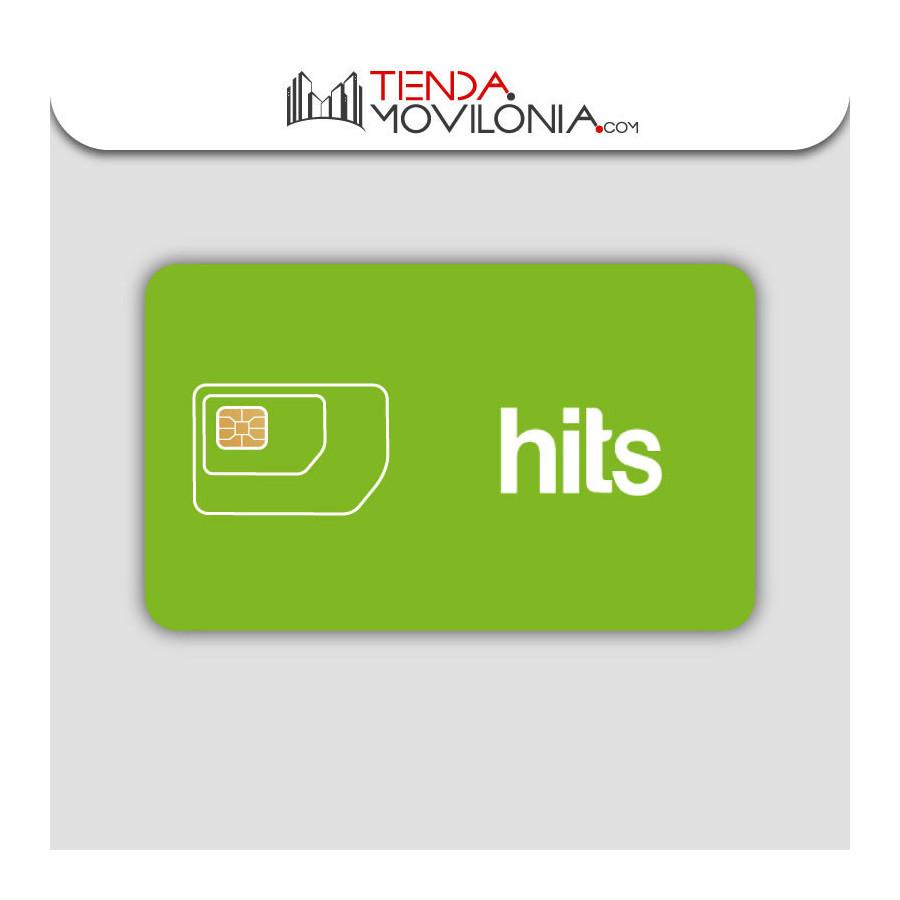 Tarifas móviles de contrato de Hits Mobile - Llamadas y 4G -