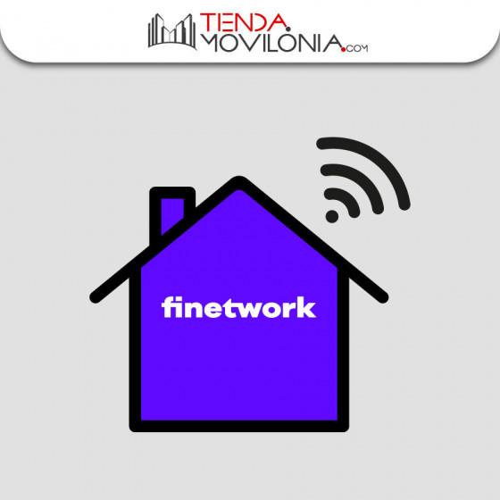 Tarifas de SOLO FIBRA de Finetwork - Alta e instalación GRATIS + REGALO