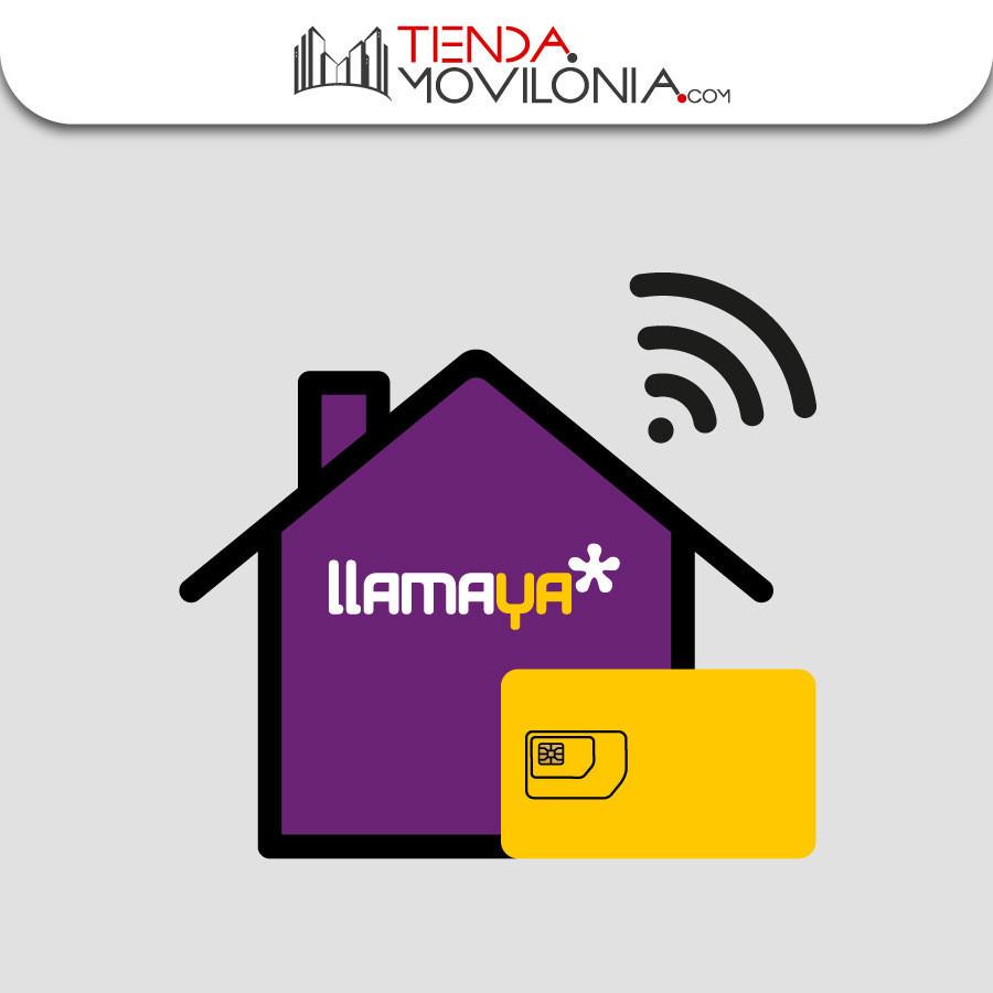 Tarifas Llamaya de fibra + fijo + móvil - Llamadas ilimitadas + 4G - Cobertura Yoigo y Orange