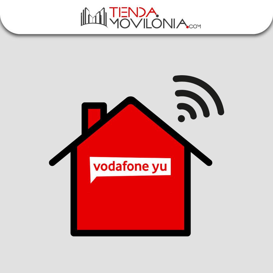 Tarifa de SOLO FIBRA de Vodafone Yu - Fijo con llamadas ilimitadas - Sin permanencia
