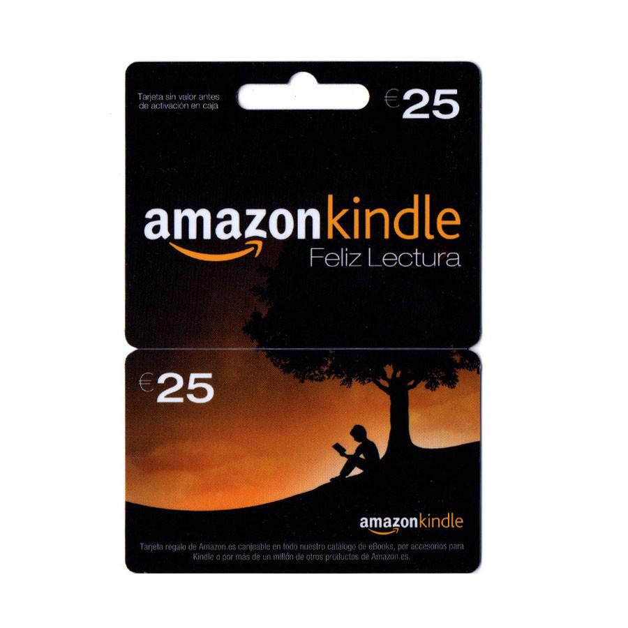 Tarjeta regalo para Amazon Kindle - Saldo para comprar ebooks - Puedes pagar con PayPal