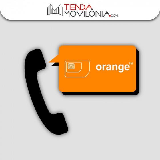 Tarifa Mi Fijo de Orange - Llamadas ilimitadas a fijos nacionales - Compatible con teleasistencia