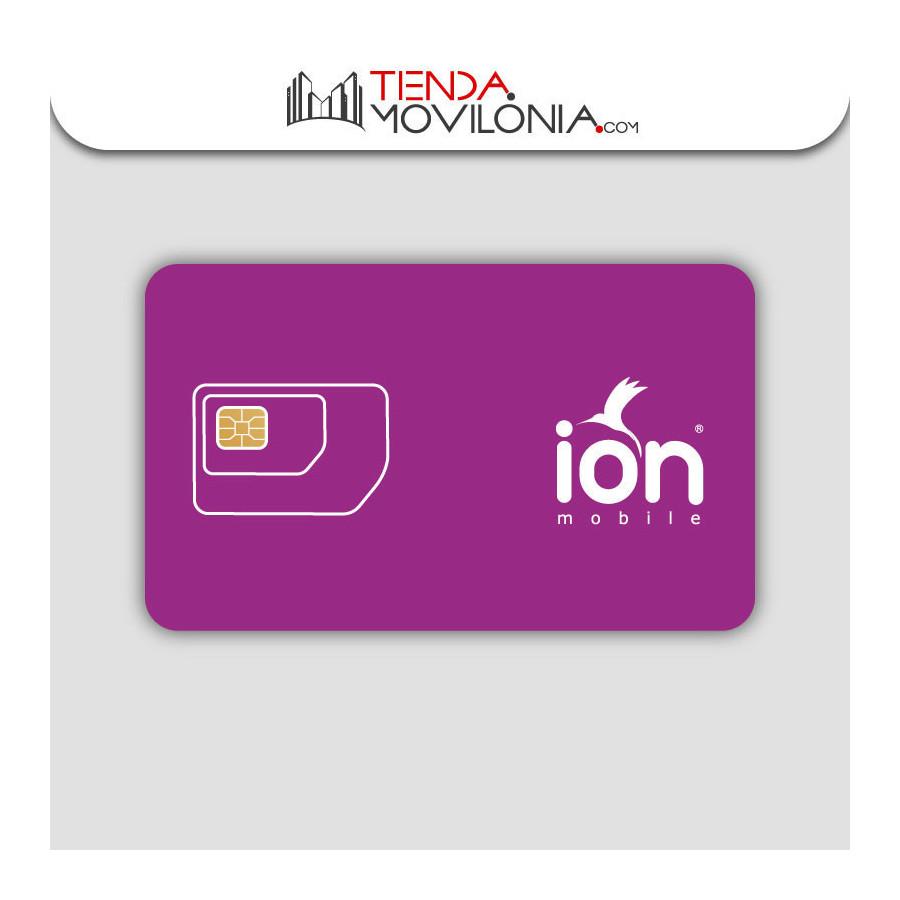 Tarifas móviles de Ion Mobile - Llamadas y 4G - Cobertura Movistar