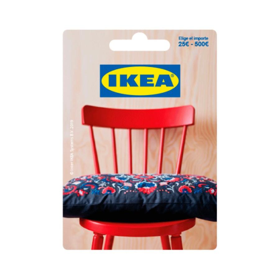 Tarjeta regalo para comprar en tiendas Ikea e Ikea.es - Entre 25 y 500 euros