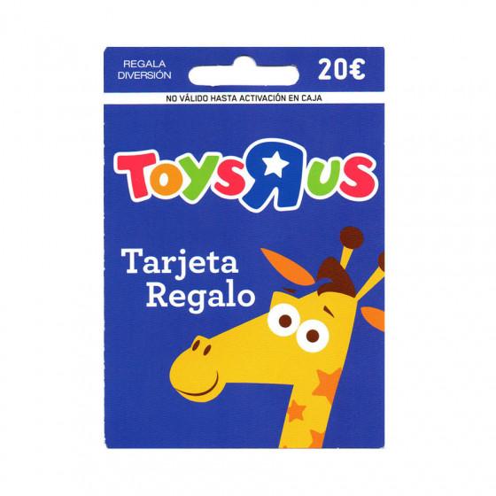 Tarjeta regalo ToysRus - 20 euros de saldo para comprar juguetes en sus tiendas y web