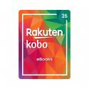 Código digital canjeable en Rakuten Kobo - Saldo para comprar ebooks y audiolibros