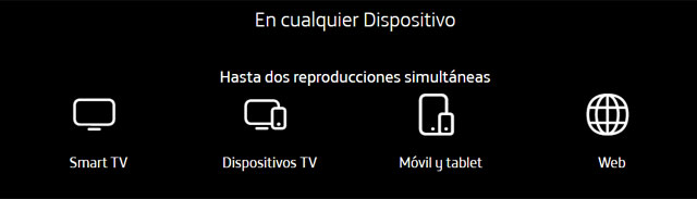 dispositivos compatibles con Movistar+ Lite