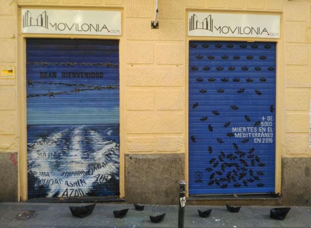 Tienda Movilonia.com en Pinta Malasaña 2017