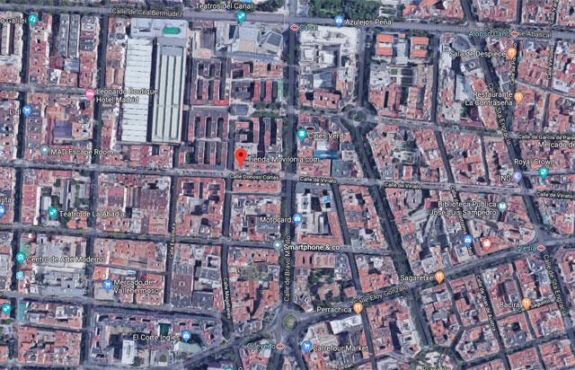 tienda Movilonia.com en Google Maps