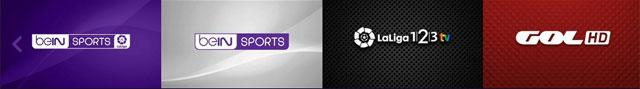 canales de fútbol de Bein Connect