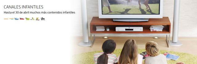 canales infantiles en Movistar+ Lite