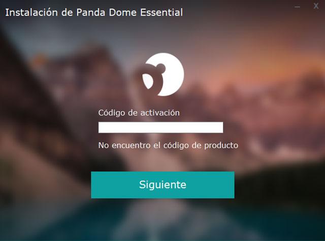código de activación de Panda Dome Essential