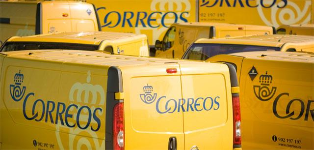 furgonetas de Correos