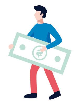 ingreso en efectivo
