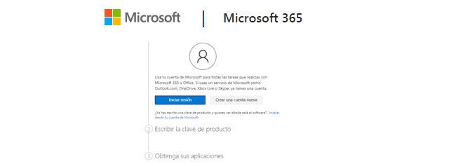 pasos para descargar Microsoft 365 Personal
