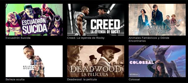 películas en HBO España