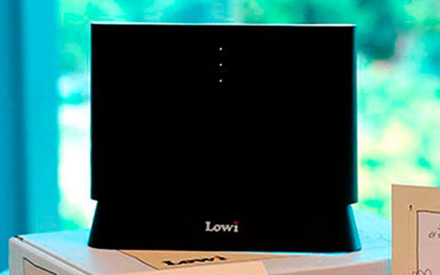 Así es el router de Lowi