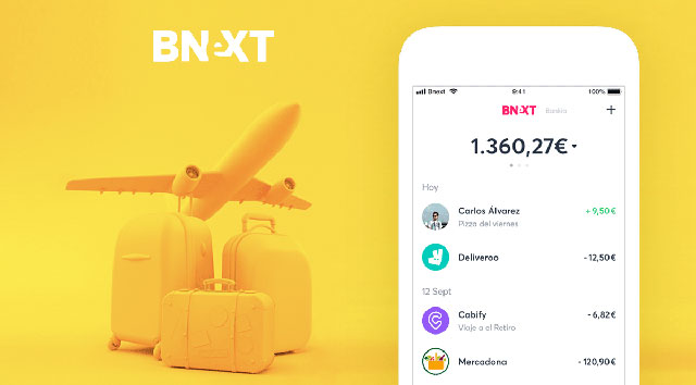 uso de la tarjeta Bnext en el extranjero