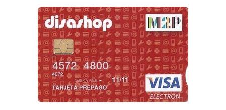 tarjeta VISA prepago MoneyToPay (M2P)