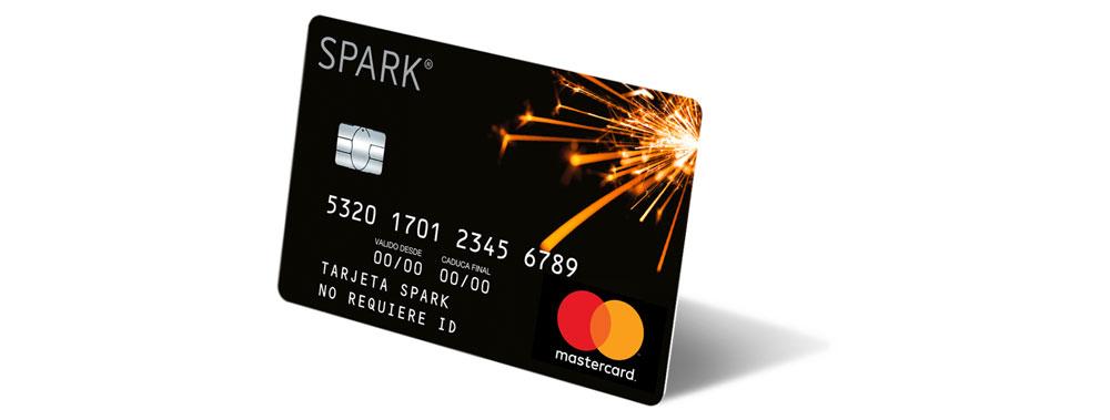 tarjeta prepago Mastercard SPARK