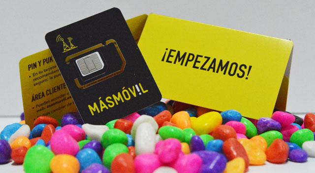 tarjeta SIM de Masmóvil con cobertura de Yoigo